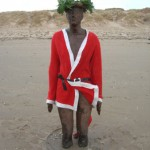 Humour winner: Christmas on Crosby Beach by Christine Ryan.