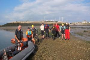 Roa Island Charity Swim 2014